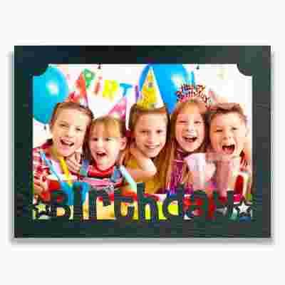 Birthday Baby Photo Frame