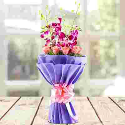 Eternal Floral Bliss Bouquet