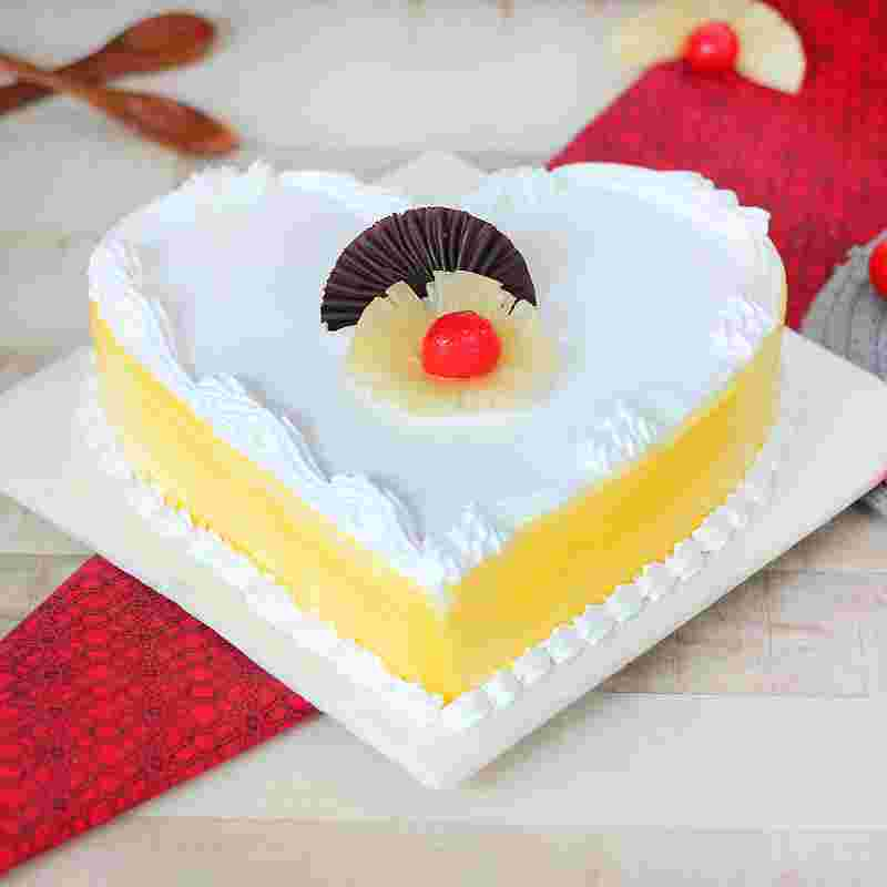 Heartilicious Pineapple Cake