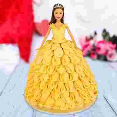Sunshine Barbie Cake