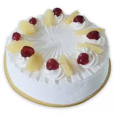 Half Kg Eggless Pineaple Cake