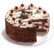 Half kg Black Forest Cake