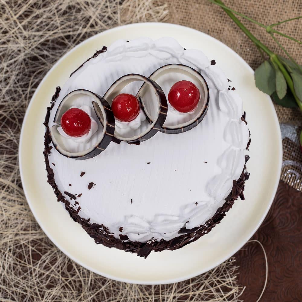 Heartilicious Dark Chocolate Cake