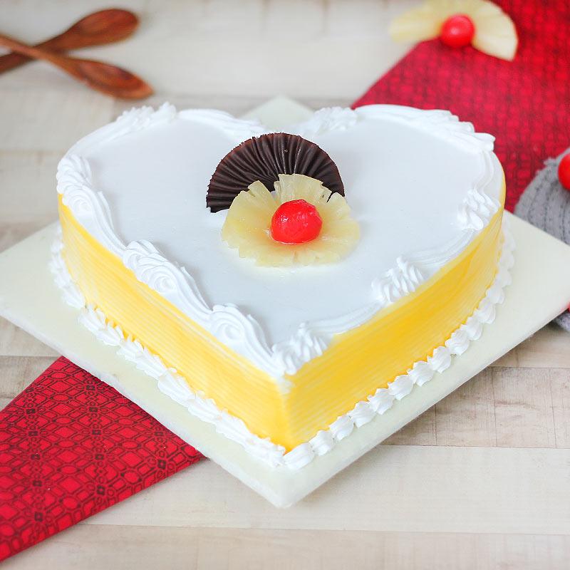 Heartilicious Pineapple Cake