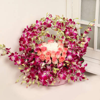 Pristine Floral Arrangement