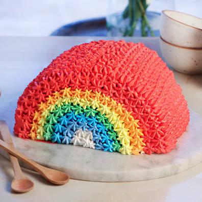 Choco Cream Rainbow Cake(attribute)